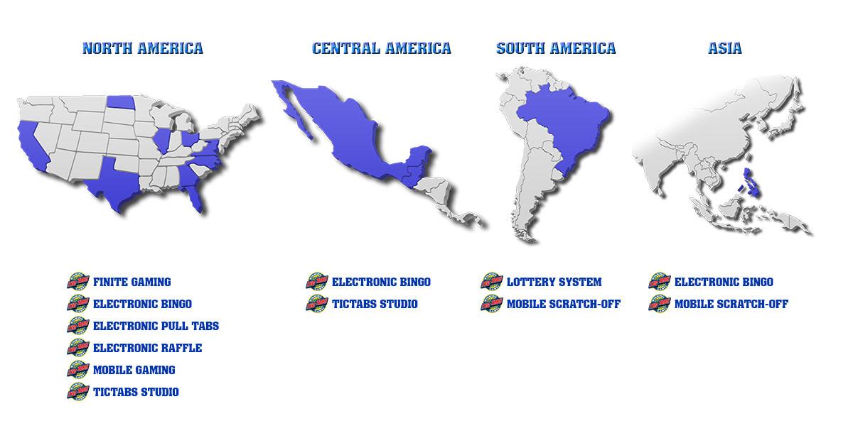 Tictabs World Map
